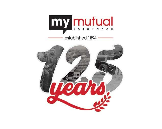 My Mutual Insurance, 125th Anniversary, Insurance